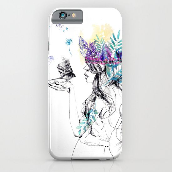 'Nature Girl' phone case