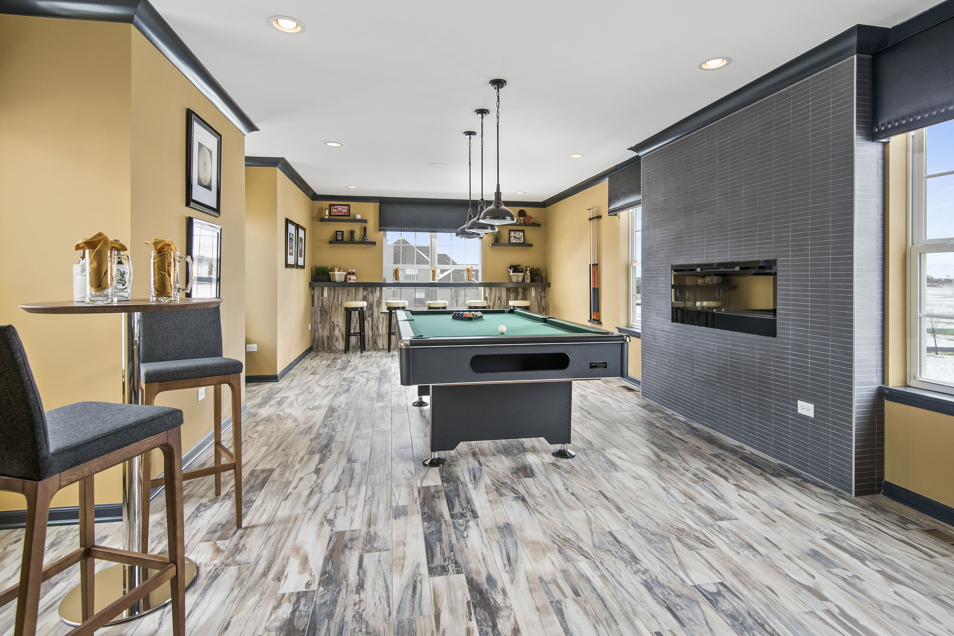 Best This Second Floor Rec Room Is Perfect For Playing Pool 400 x 300