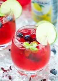 Berry Hibiscus Iced Tea Lemonade Refresher Recipe Iced Tea