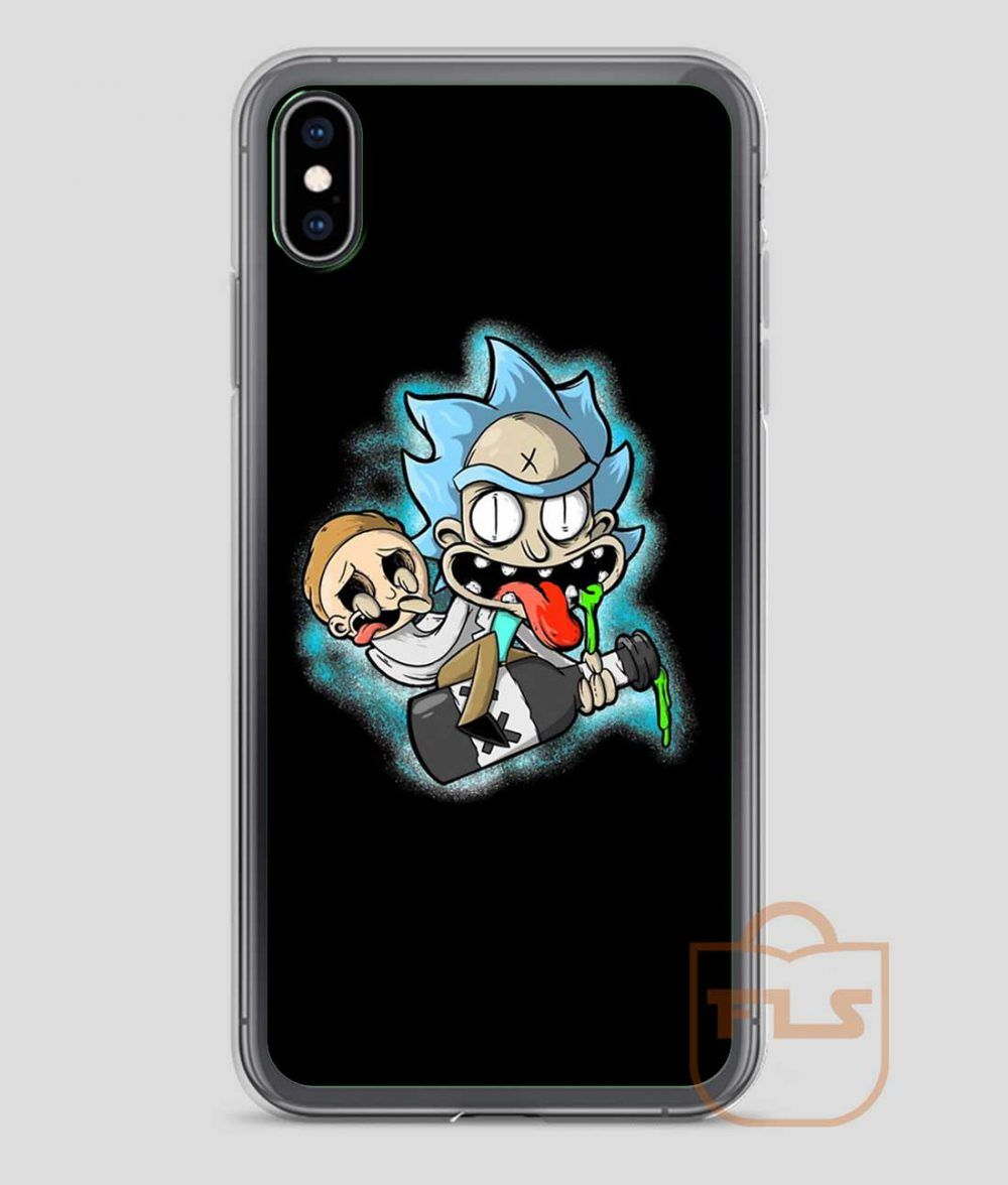 Rick and morty juice ride iphone case x xs xr xs max