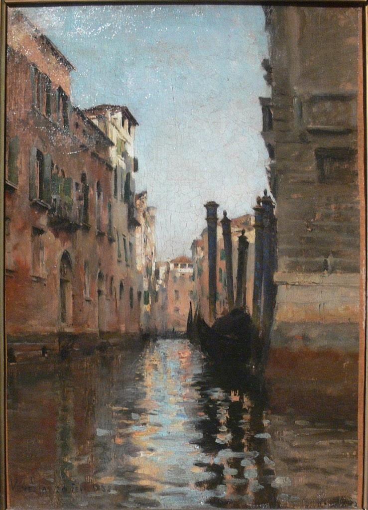 Antoine Bouvard Venice Painting Lovers Art Art