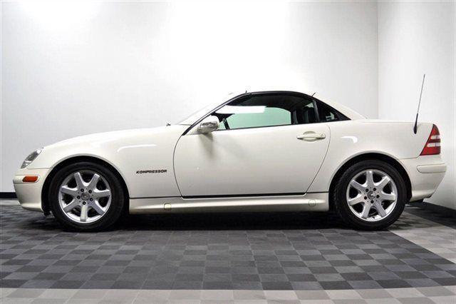 2002 Slk 230 White Black Int Mint Cont One Owner Mercedes Benz