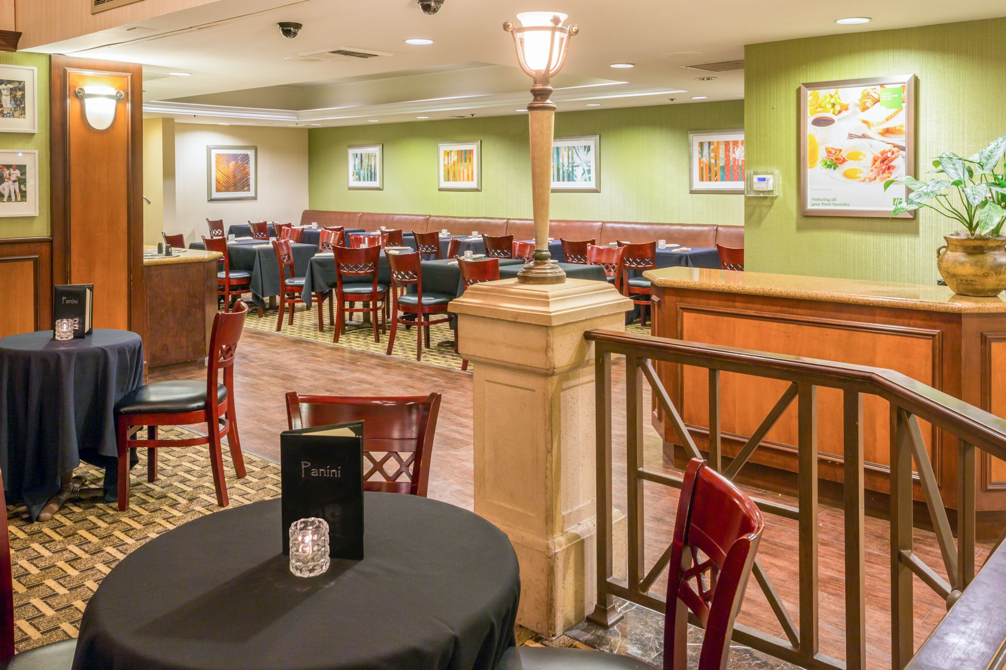 Panini Restaurant Located Inside The Holiday Inn Orange County Airport   Santa Ana! A Convenient