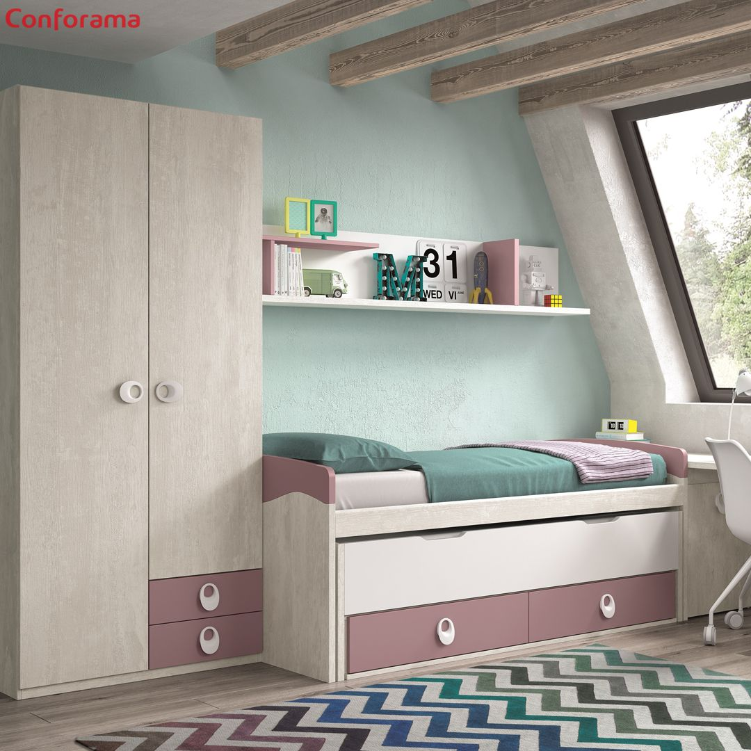 Dale color y vida al dormitorio de los tuyos con el modelo