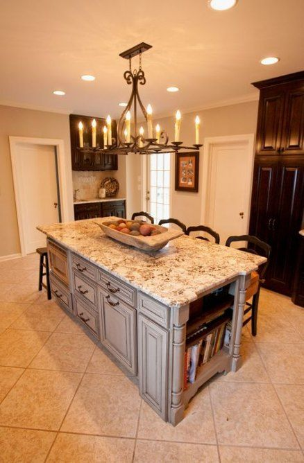 Ideas Kitchen Island Seating Rustic Storage