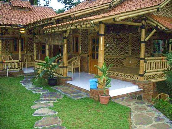 bamboo house/porch-Love the Japanese style | Front & Back ...