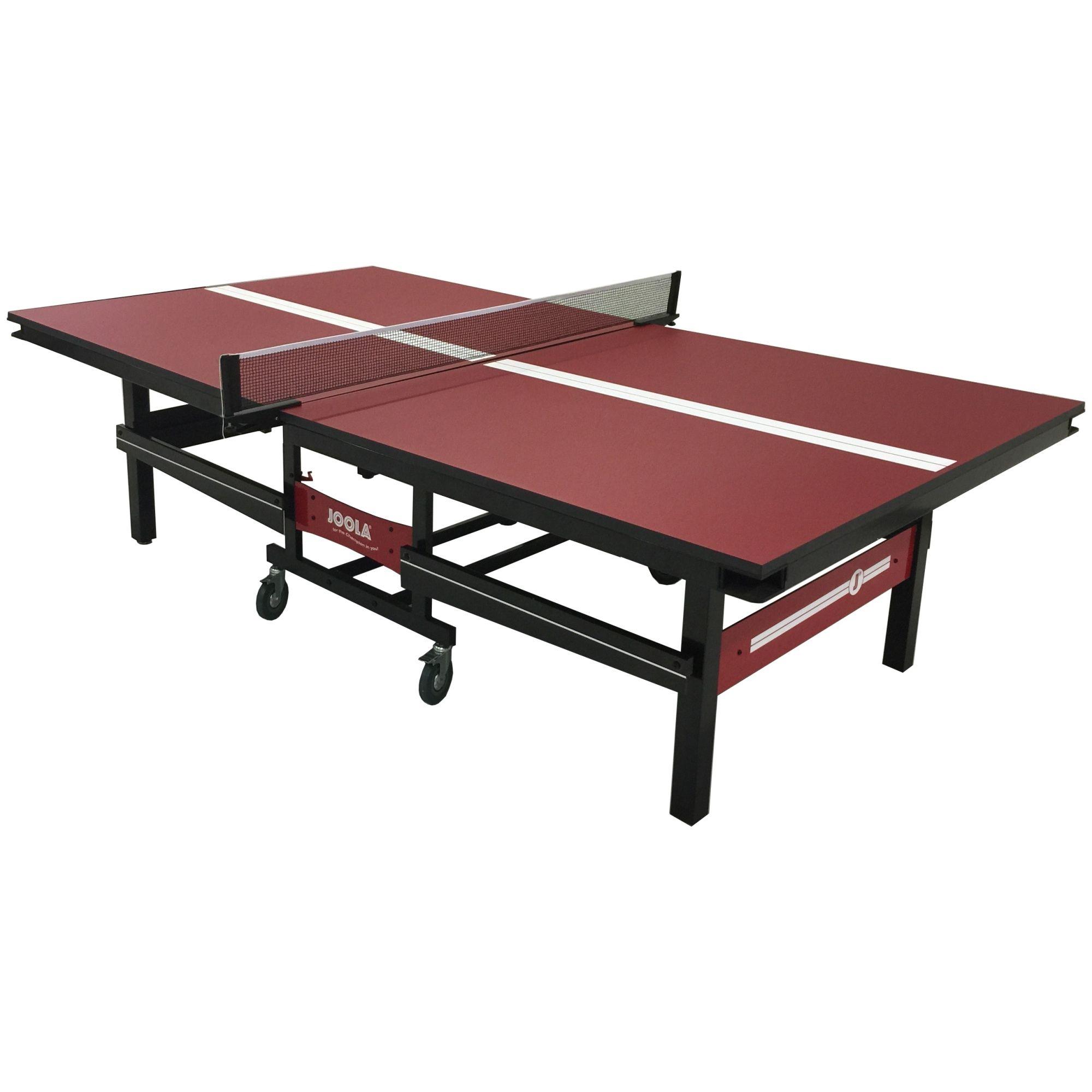Smash A Point Down The Line On The Joola Signature 2 Piece Table Tennis Table Table Tennis Table Game Room Decor