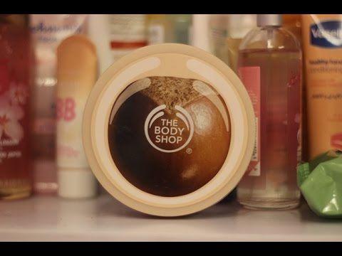ريفيو زبدة الشيا طريقتي في التخلص من الخطوط البيضاء Shea Butter Review The Body Shop The Body Shop Body Care Body
