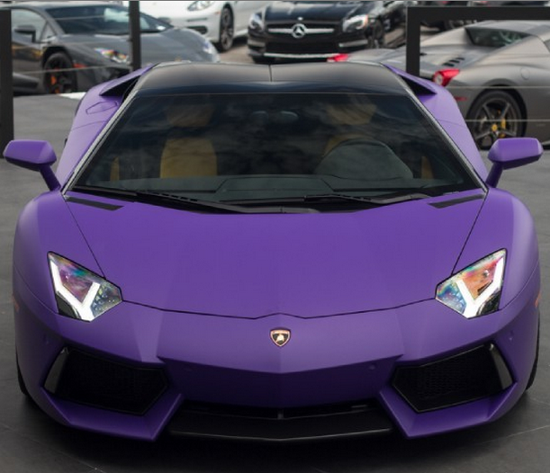 Now This Is What I'm Talking About...Matte Purple