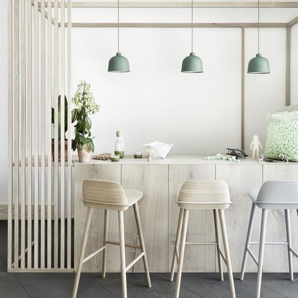 Grain Pendant Lamp Kitchen Bar Stools Interior Kitchen Pendants