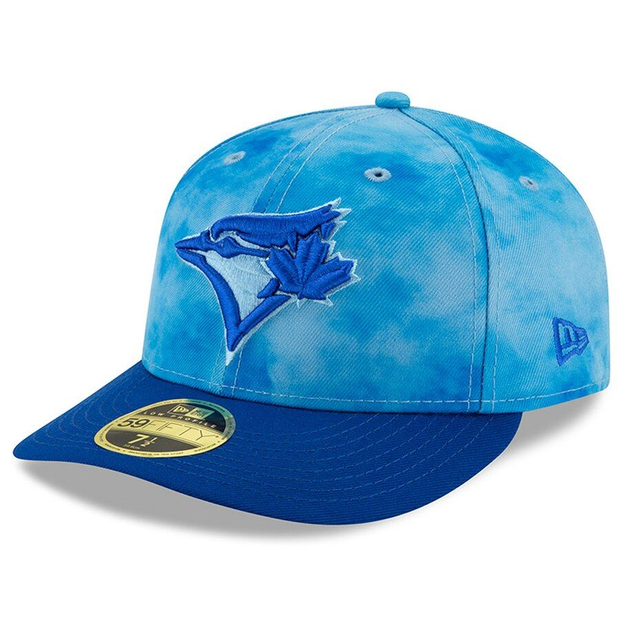 low priced 0f48c 2f766 Men s Toronto Blue Jays New Era Blue Royal 2019 Father s Day On-Field Low