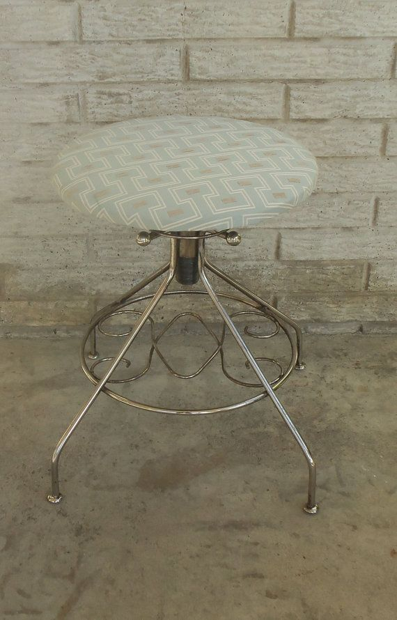 Dressing Table Chairs And Stools: Adjustable Height. Funky Vanity Stool Makeup Table Chair