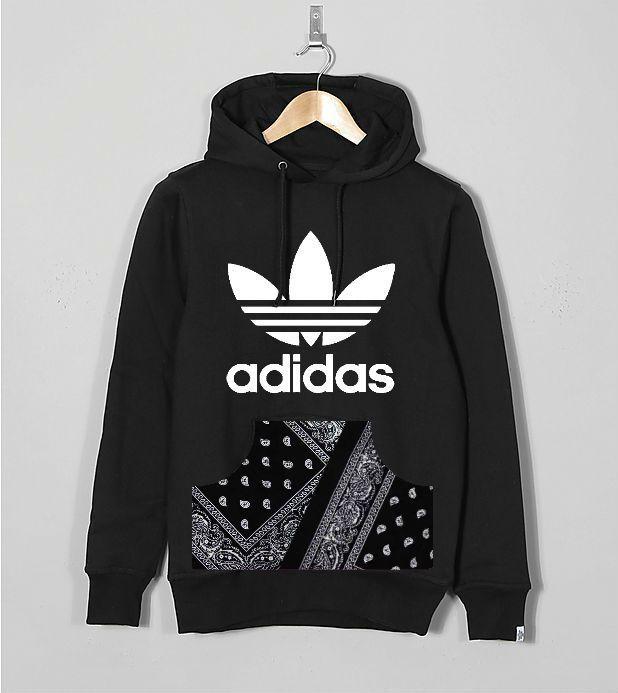 Stag & Bone Urban Paisley Adidas Originals Hoodie www