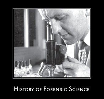 History Of Forensic Science Forensic Science Forensics Forensic Anthropology