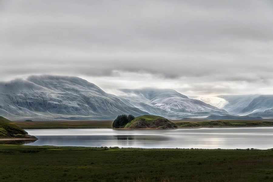 Iceland Landscape Mountains And Glaciers Moody Serene Landscape Photography Fine Art Print Travel Photography Romantic Photo Gift With Images Landscape Photography Iceland Landscape Art Pr