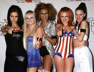 Best Group Halloween Costumes | Her C&us -- Spice Girls #halloween # costumes #spicegirls  sc 1 st  Pinterest & The Best Girl Group Halloween Costumes | Pinterest | Group halloween ...