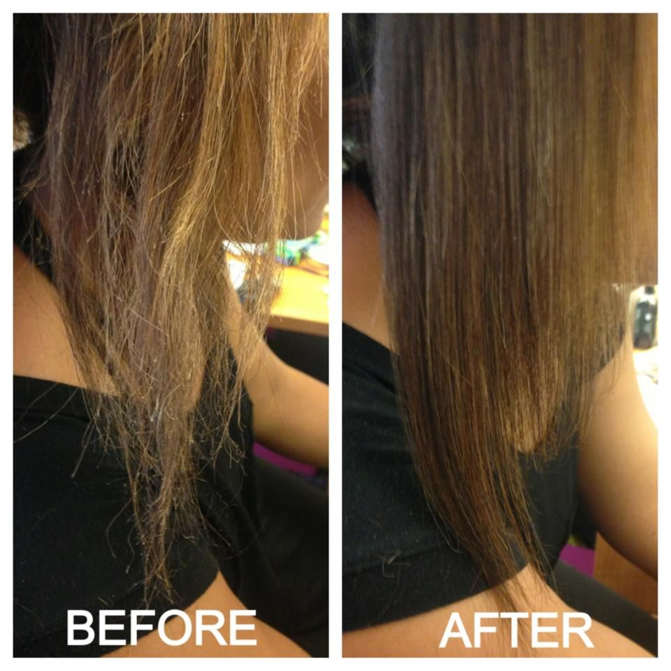Home Remedies How To Get Rid Of Split Ends Naturally DIY Hair