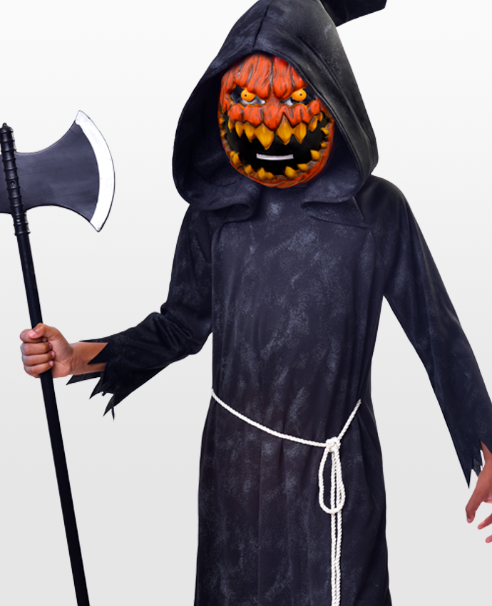 Brand new for Halloween 2017 is this pumpkin reaper