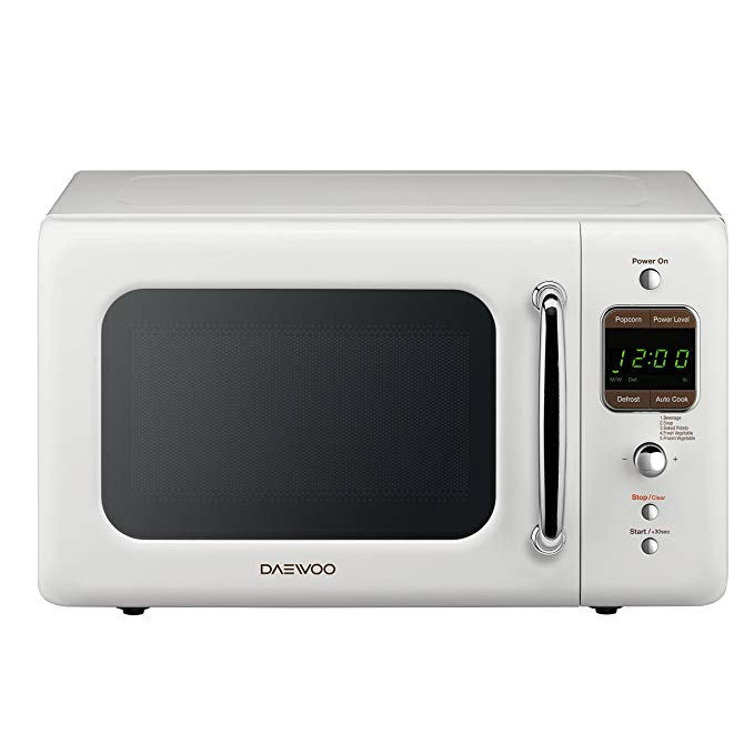 Best Amazon Com Daewoo Kor 7Lrew Retro Countertop Microwave 400 x 300