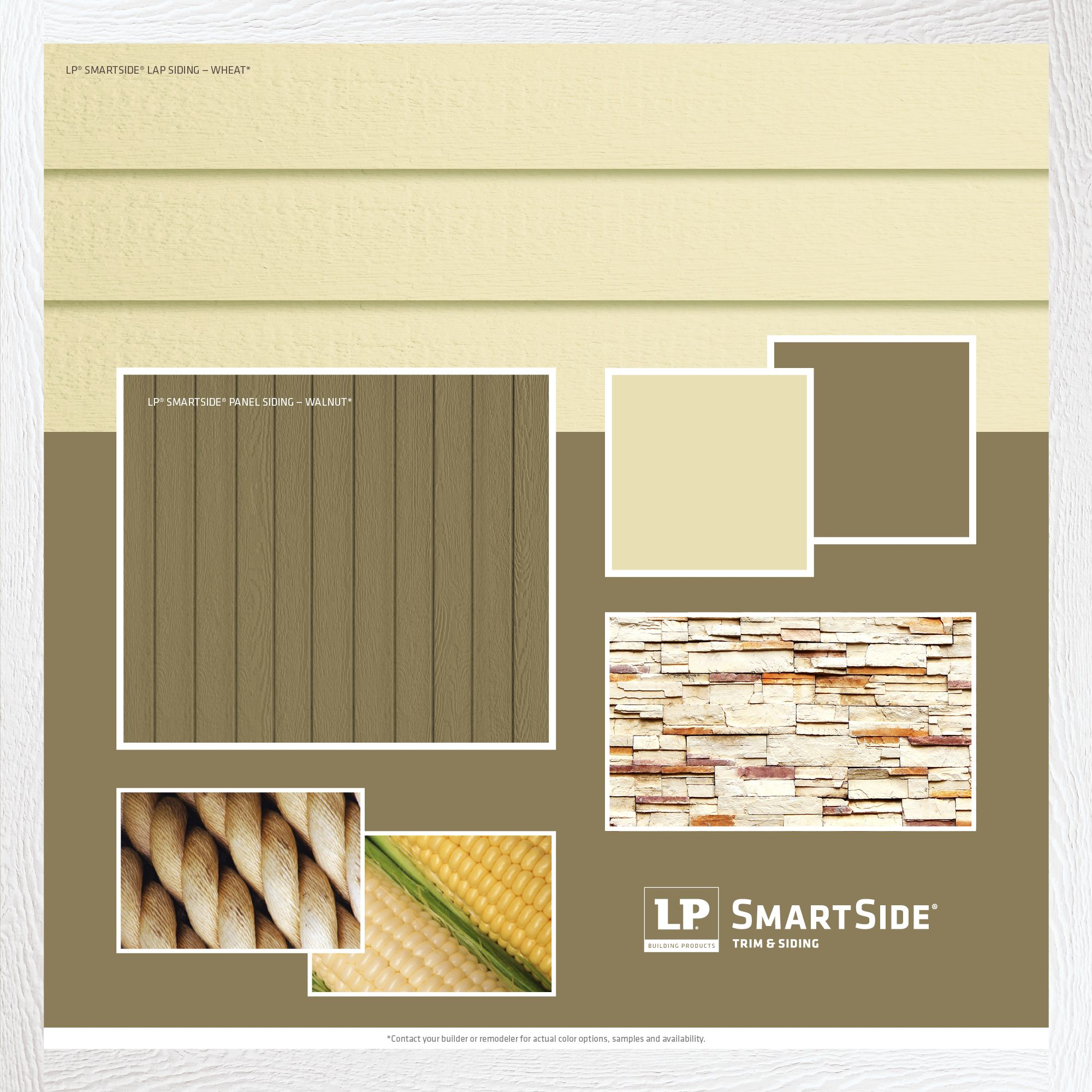To Give Your Home S Exterior A Natural Contemporary Look Consider This Combination Of Lp Smartside Siding A Engineered Wood Siding Siding Trim House Exterior