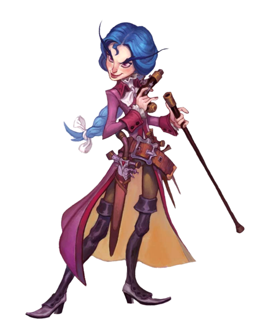 Female Gnome: Female Gnome Gun Smuggler Rogue