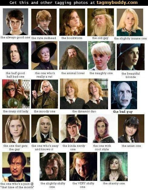 Pin By Faith Brown On People Harry Potter Movie Characters Harry Potter Characters Harry Potter Character Quiz