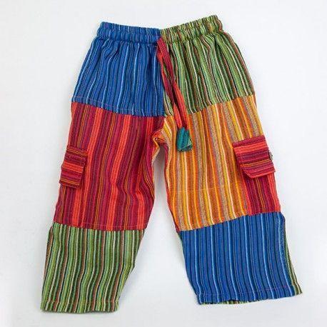 Pantalon Hippie Infantil KDNE1707