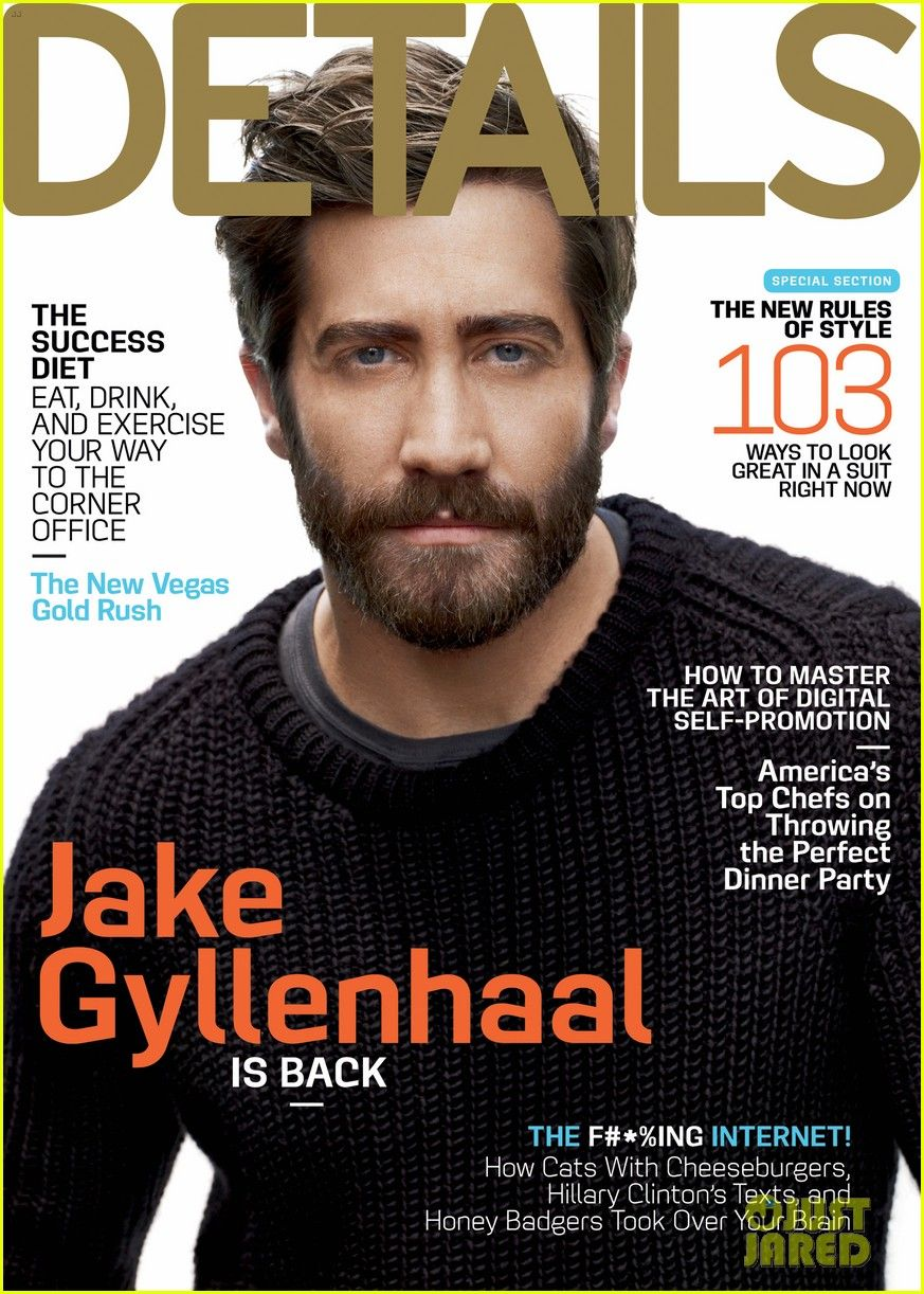 Jake Gyllenhaal Covers 'Details' September 2012