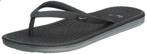 0ca6534618826e Nike Women s Celso Girl Solar Soft Thong II  Black   Cool Grey- Black-Cool  Grey