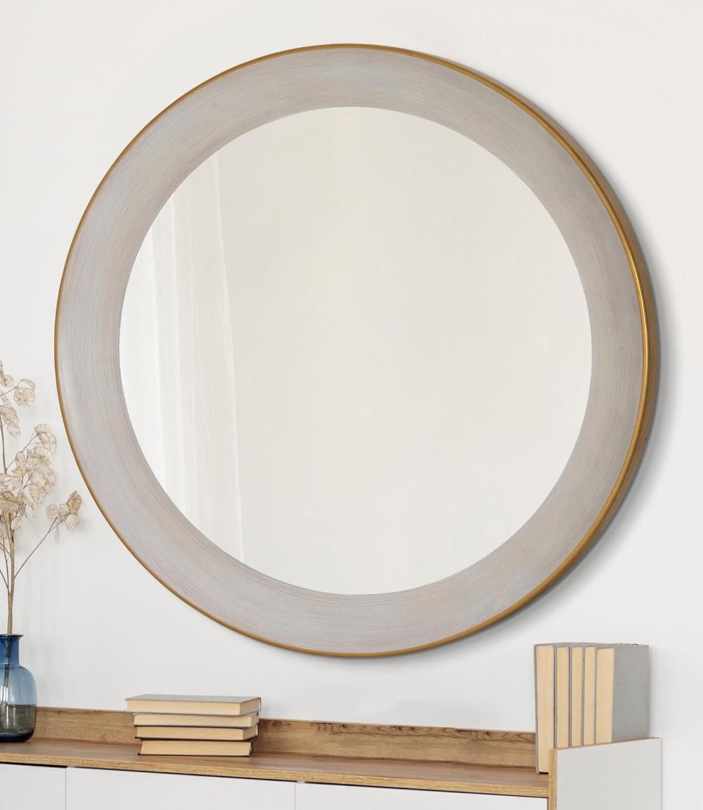 3193 B Majestic Mirror Frame In 2020 Round Mirror Bathroom