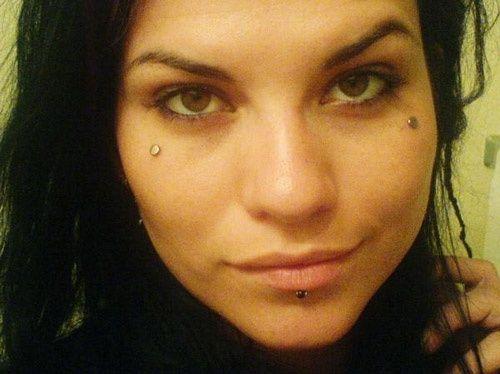 Dermal Implant Teardrops Microdermal Piercing Face Piercings