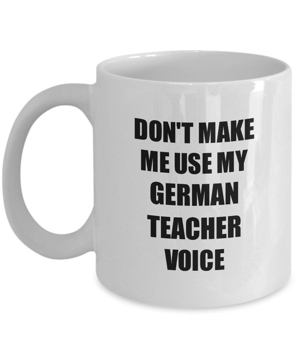 German Teacher Mug Coworker Gift Idea Funny Gag For Job