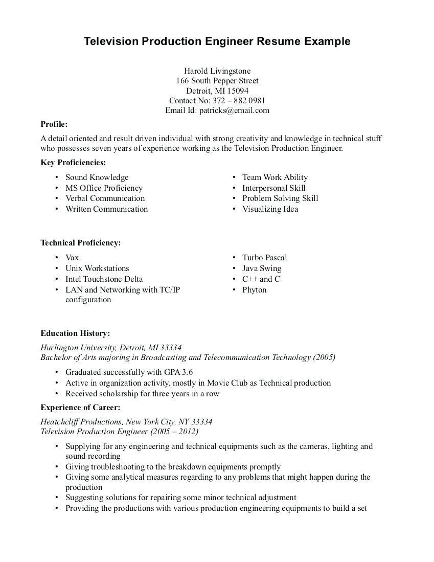 Top 20 Production assistant Resume | Resume Letter Ideas ...