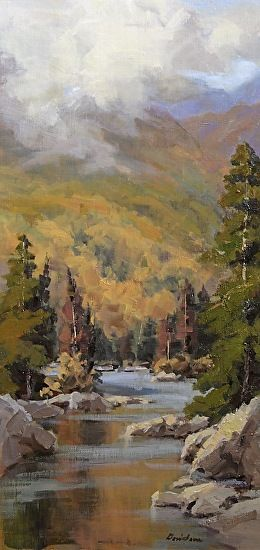 Mystic Autumn By Bill Davidson Landscape Art Landscape