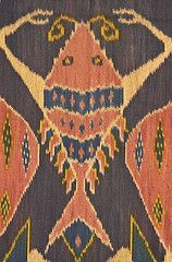 Indonesian Woven Fabric Ikat Sumba Island Naonishimiya Tags