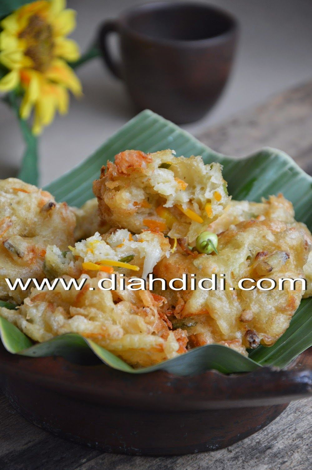 Diah Didi S Kitchen Bakwan Jamur Tiram Udang Makanan Dan Minuman Resep Masakan Indonesia Masakan Indonesia