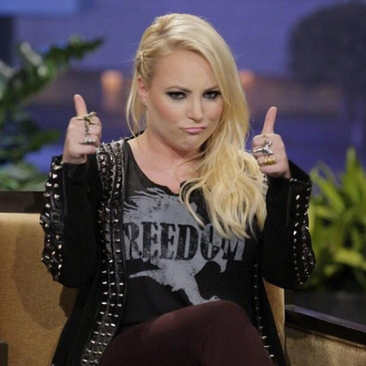Meghan Mccain Snaps At Joy Behar On The View After Fox: Meghan-mccain.jpeg (1252×1252)