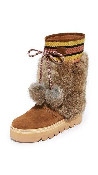 f0bb6a08 ¡Consigue este tipo de botas con plataforma de See By Chloe ahora! Haz clic