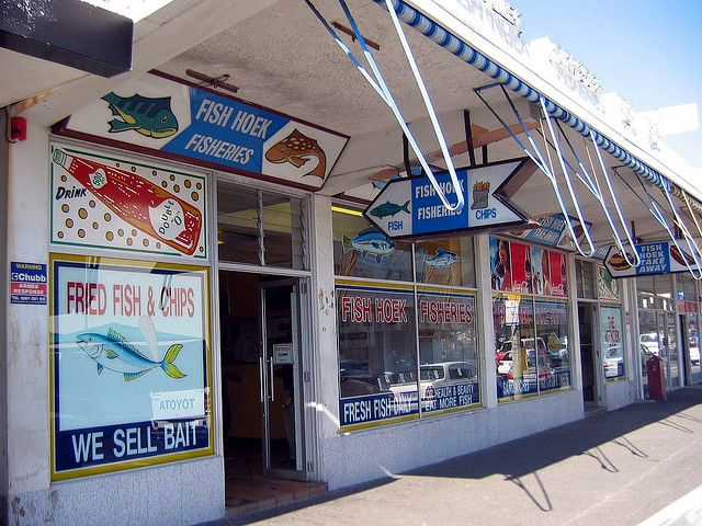 Fish Hoek Fisheries by SouthAfrica Best fish and chips ever.
