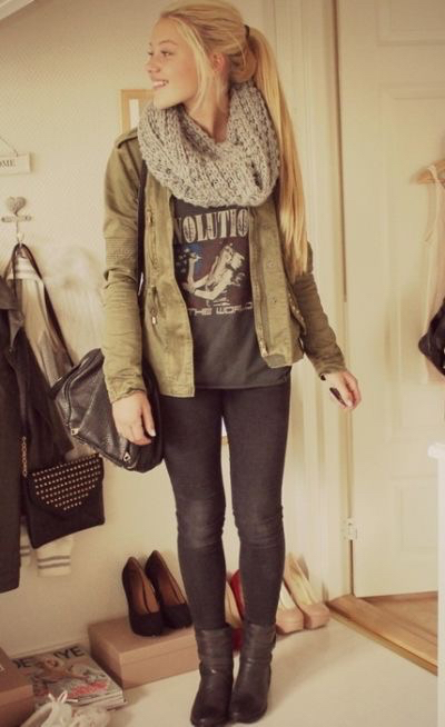 adorable  fall,  winter outfits -  fall outfits  #classy -  sweater