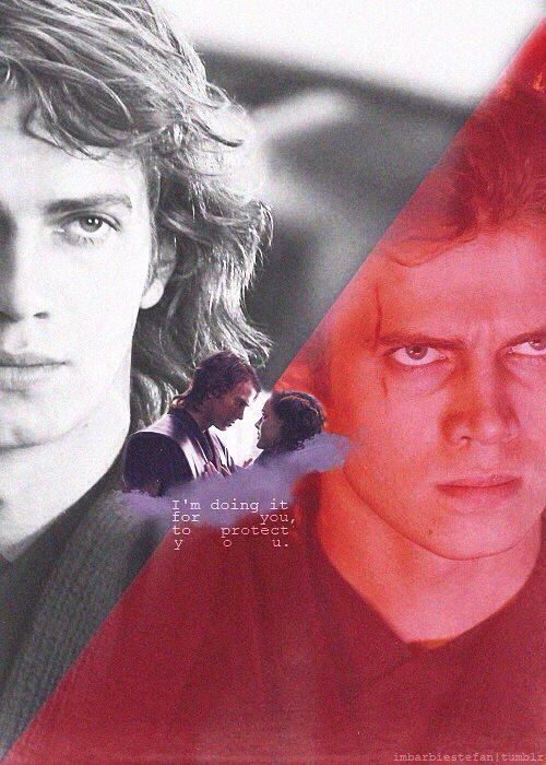 Light and darkness - Anakin Skywalker