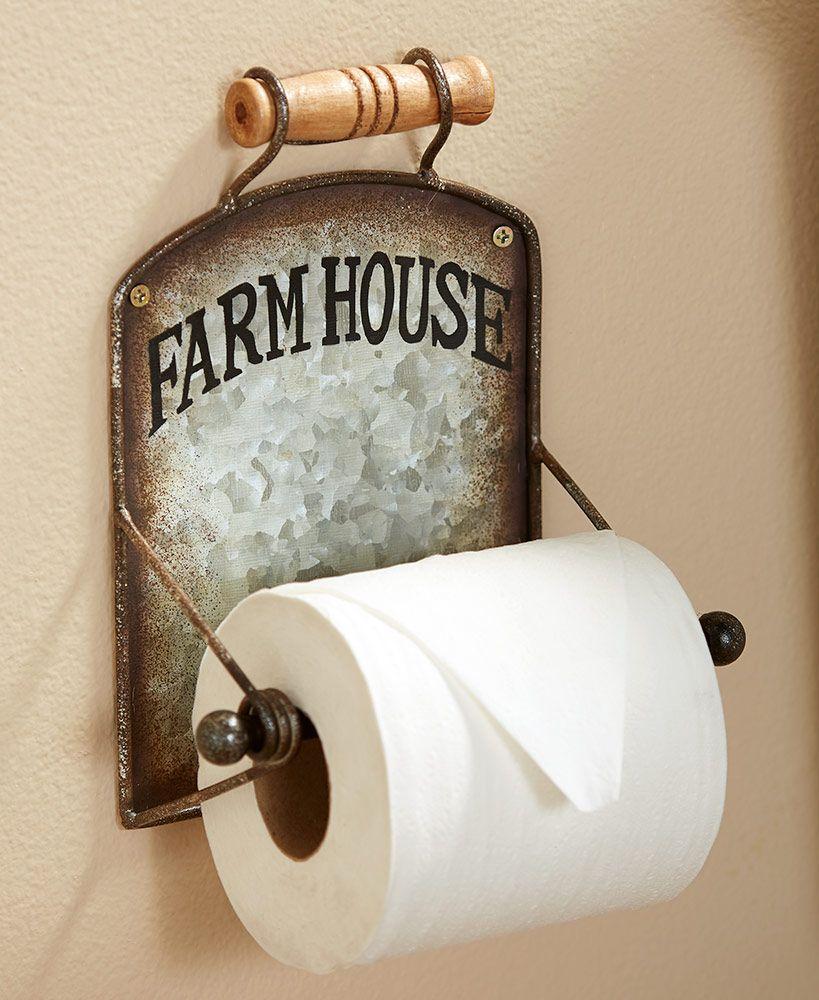 Farmhouse bath collection farmhouse toilet paper holders