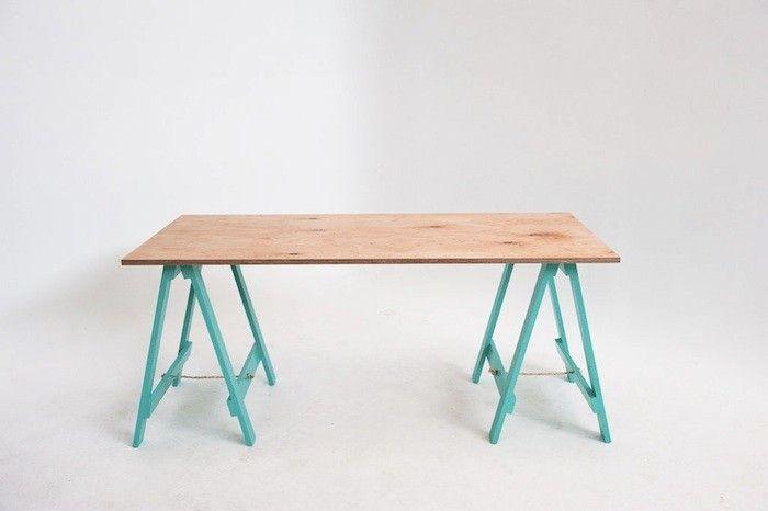 Seven Hands High Trestle Table/Remodelista