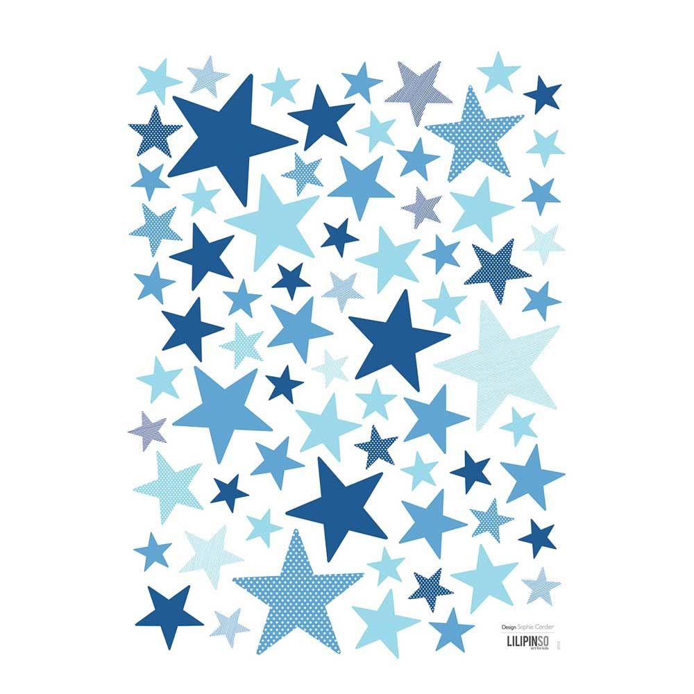 Hier sehen sie den famosen wandsticker sterne von - Wandsticker sterne ...