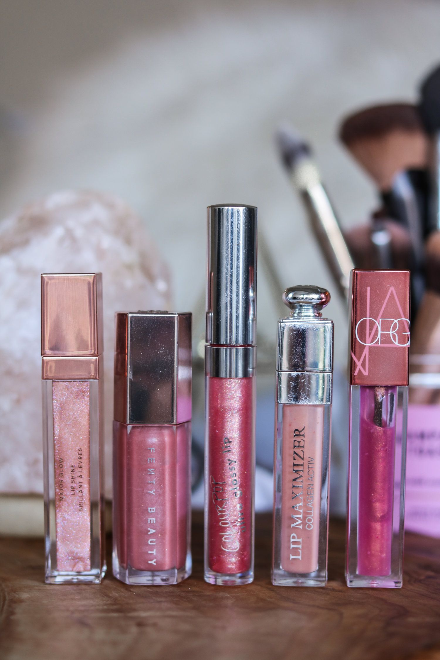 MY TOP 5 FAVE LIP GLOSSES THIS SUMMER (NonSticky
