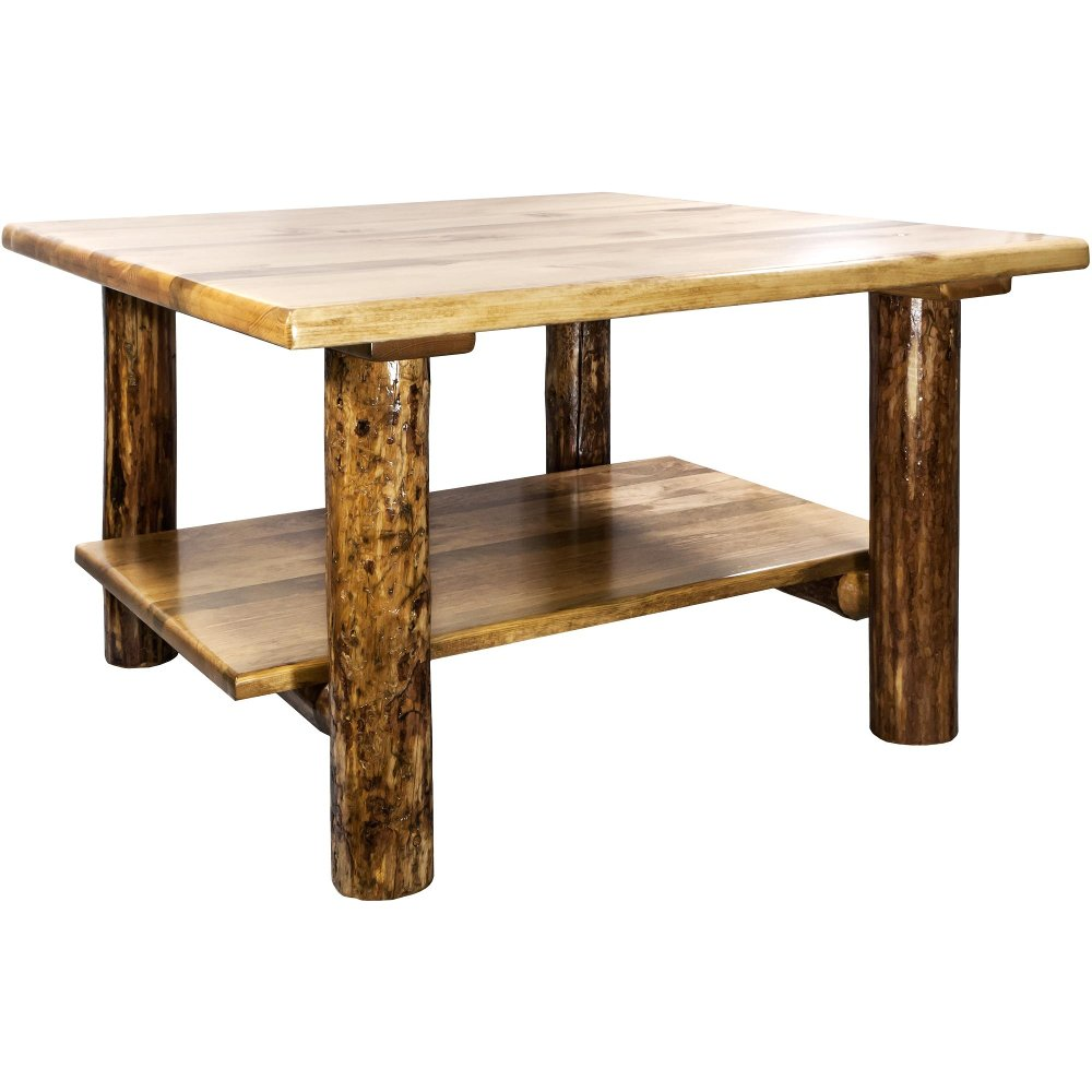Cocktail Table Glacier Country Wood Cocktail Table Pine Coffee Table Modern Counter Stools [ 1000 x 1000 Pixel ]