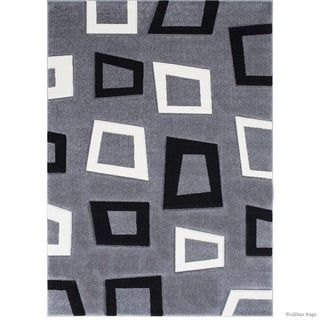 Allstar Woven Abstract Modern Square