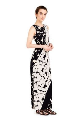 reasonably priced detailed images purchase cheap Wallis Petite monochrome floral maxi dress | Debenhams | Floral ...