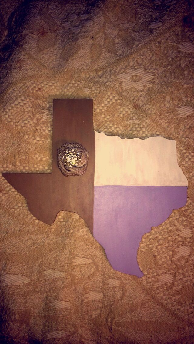 Made this for my shabby chic new room! All neutrals with lilac purple accents! #texas #diy #lilac #neutral