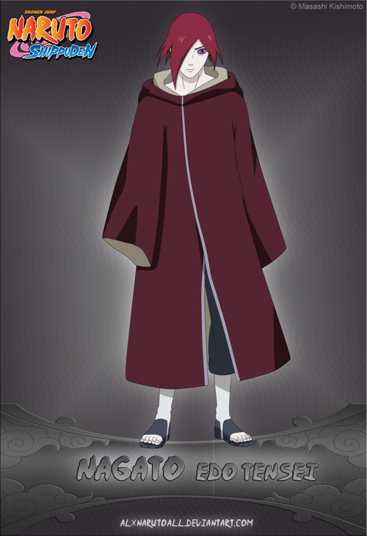 Nagato Edo Tensei By Alxnarutoall Edo Tensei Nagato Anime Naruto